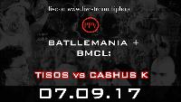 RapAmMittwoch: Battlemania + TISOS vs CASHUS K Logo