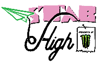 Stab High: a surf contest mostly in the air Logo