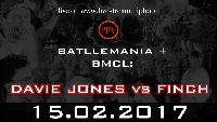 BMCL 15Feb17: Hamburg DAVIE JONES vs FINCH Logo