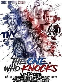 Tier 1 Wrestling & Battle Club Pro- The One Who Knocks Logo