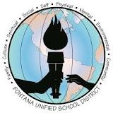 2016 Fontana Unified School District Commencement Ceremonies Logo