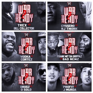 "The Battle Academy Presents ""War Ready 2"" Hosted by John John Da Don Logo"